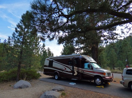Granite Flat NF Campground