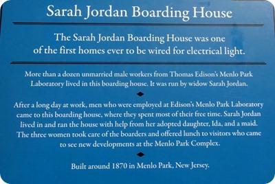 Sarah Jordan Boarding house