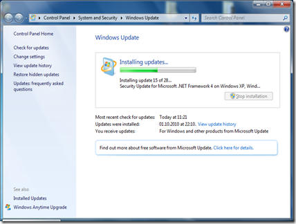 windows update 3