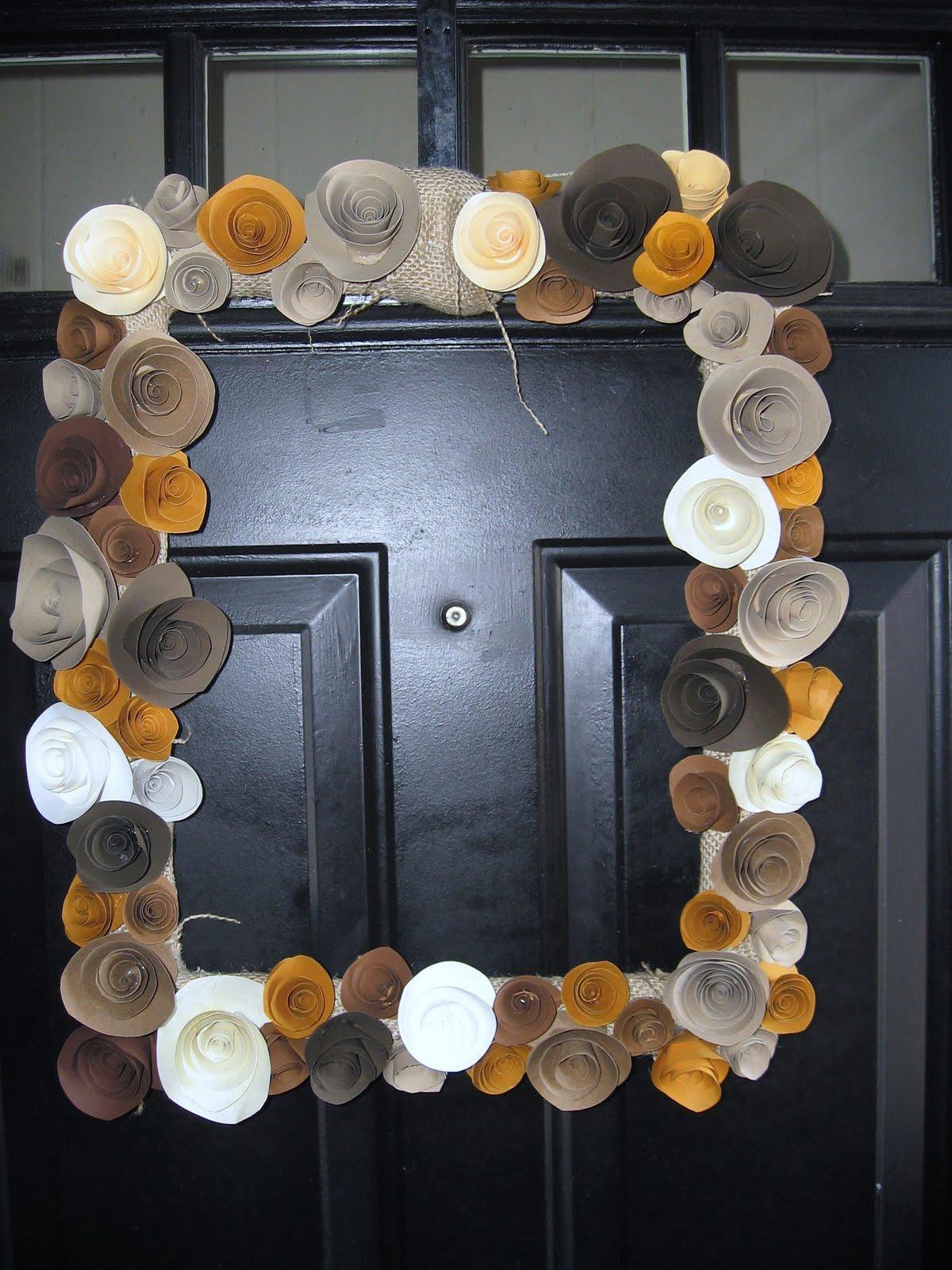 diy wedding door hangers