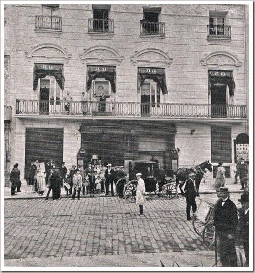 Antiguo edificio del Ateneo Mercantil de Valencia. 1911
