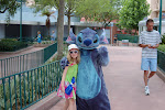 Hannah and Stitch at Hollywood Studios in Disney 06062011c