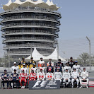 All F1 drivers that started the 2010 Formula 1 season