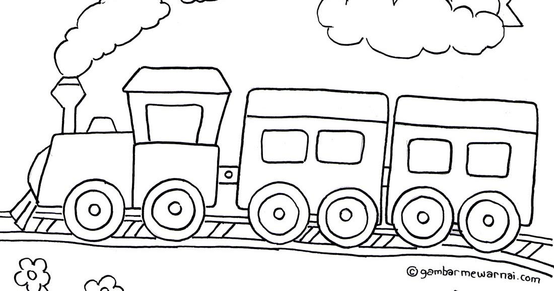mewarnai kereta masjid ivan joi oktavian