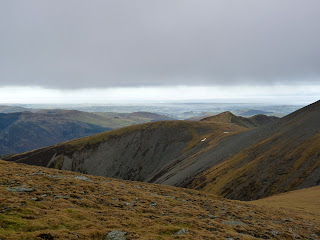 The Ullock Pike ridge comes into view