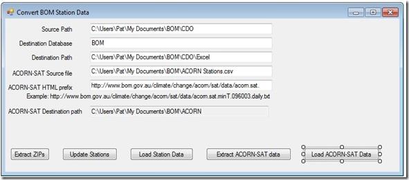 Convert BOM data