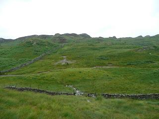 Approaching Grange Fell