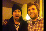with Tom Green at Penguins in Cedar Rapids
