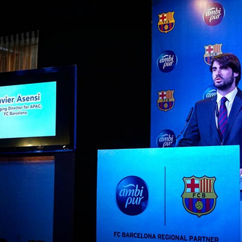 Bila Ambi Pur dan FC Barcelona bekerjasama !