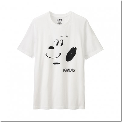 UNIQLO UT X Peanuts Movie Men Short Sleeve Graphic T-Shirt 01