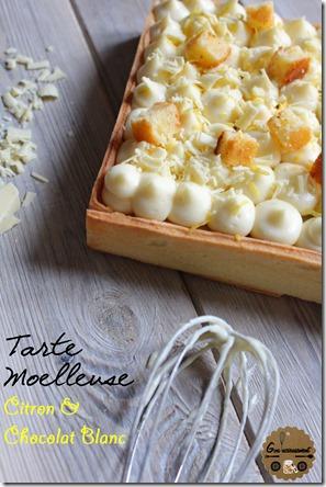Tarte Moelleuse Citron & Chocolat Blanc 5