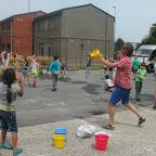 Waterspelletjes in het 2de leerjaar