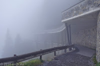 Auf der Dosso Alto-Höhenstrasse. Kurz vor dem Passo del Dosso Alto.