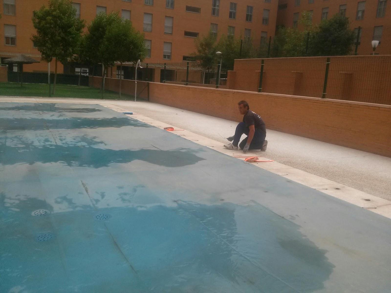 Cobertores solares para piscina for Hacemos piscinas