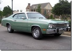 1974_Plymouth_Duster_Twister_Slant_6_For_Sale_Front_Side_1 - Copy