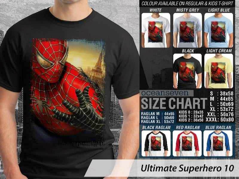 KAOS spiderman 10 Ultimate Superhero distro ocean seven