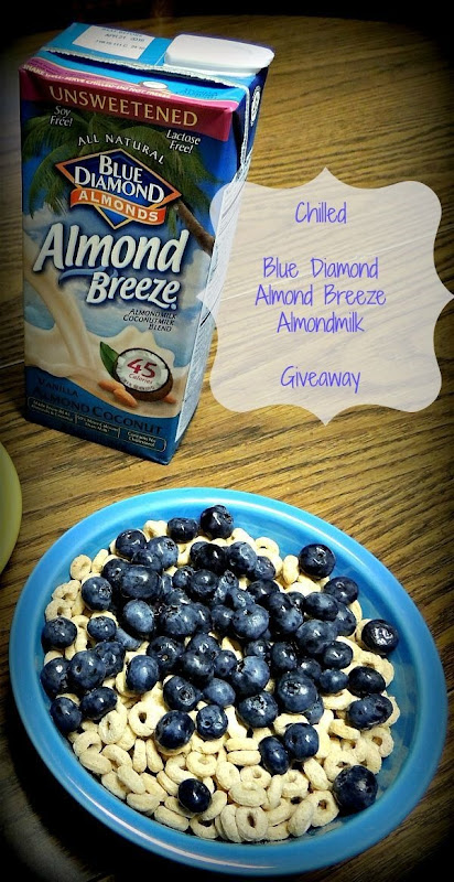 Blue Diamond Almond Breeze Unsweetened Vanilla Almond Coconut Giveaway