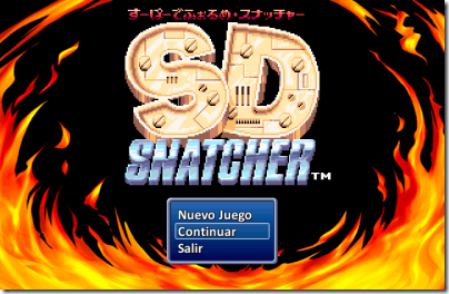 SD snatcher titulo