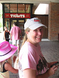 Lori in the entrance of the Grand Ole Opry in Nashville TN 09032011