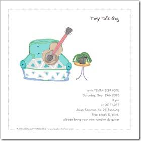 tiny talk poster