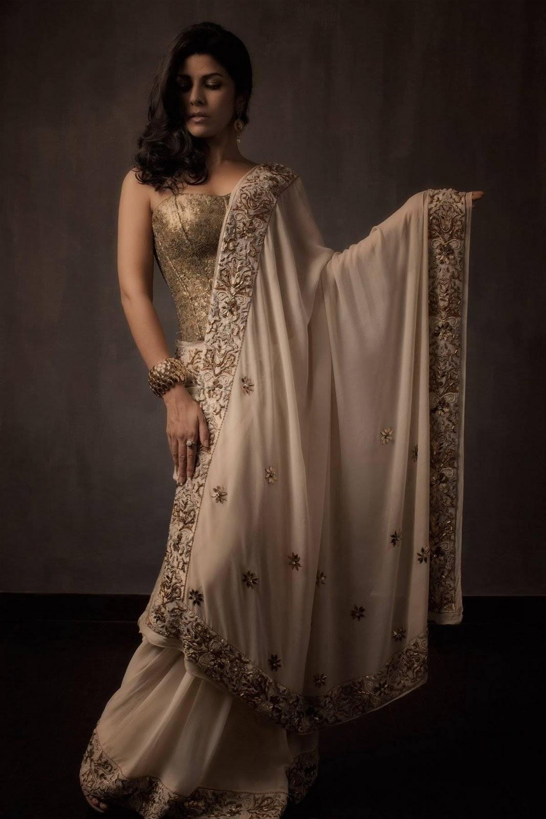 Malini Ramani Saree