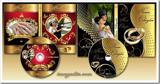 DVD case and cover psd