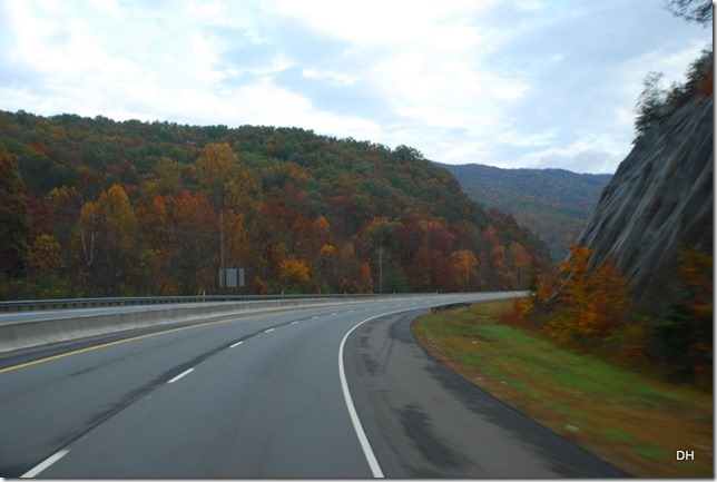 Travel from Kingsport to Cumberland I26-US11W-US25E (91)
