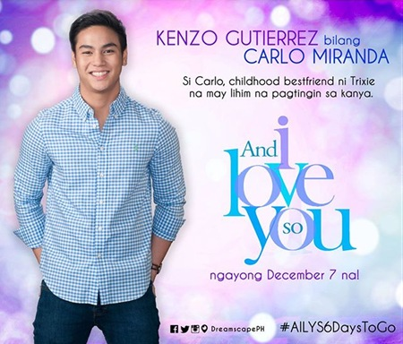 And I Love You So - Kenzo Gutierrez as Carlo Miranda