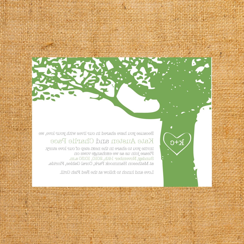 y loves branches wedding invitation. From ylovesd