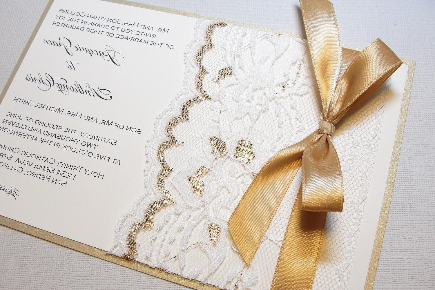 Lace Wrapped Wedding Reception