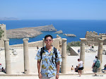 Acropolis of Lindos, Greece  [2002]
