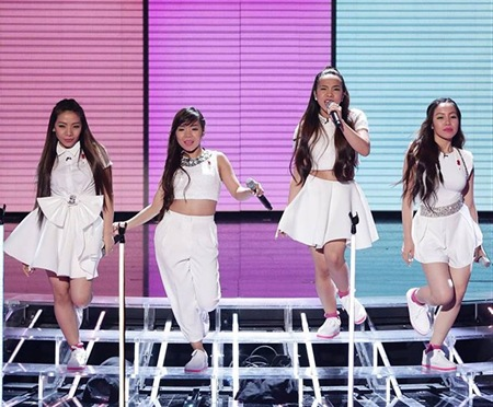 4th Impact - The X Factor UK 1st Live Show