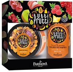 FARMONA Tutti Frutti zestaw Karmel&Cynamon 2el