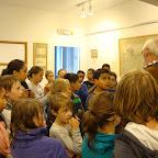 5de leerjaar bezoekt tentoonstelling burcht en kasteel van Temse