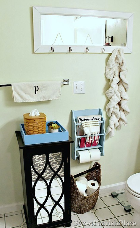 painted-thrifted-toilet-paper-magazine-rack4