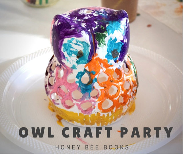 How to host an Owl Craft Party for a 5 year old