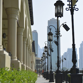 Souk Al Bahar by Jerry Faderes - Buildings & Architecture Architectural Detail