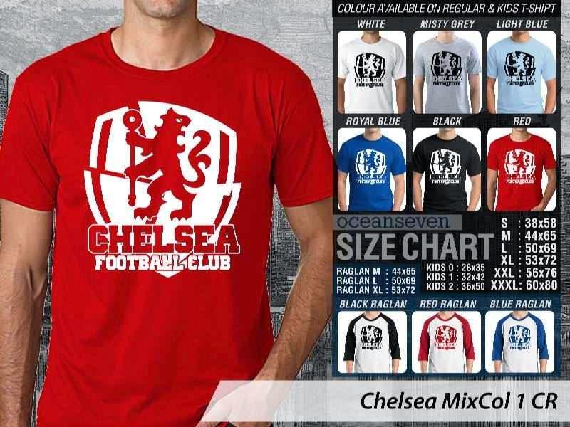 KAOS Chelsea 15 Liga Premier Inggris distro ocean seven