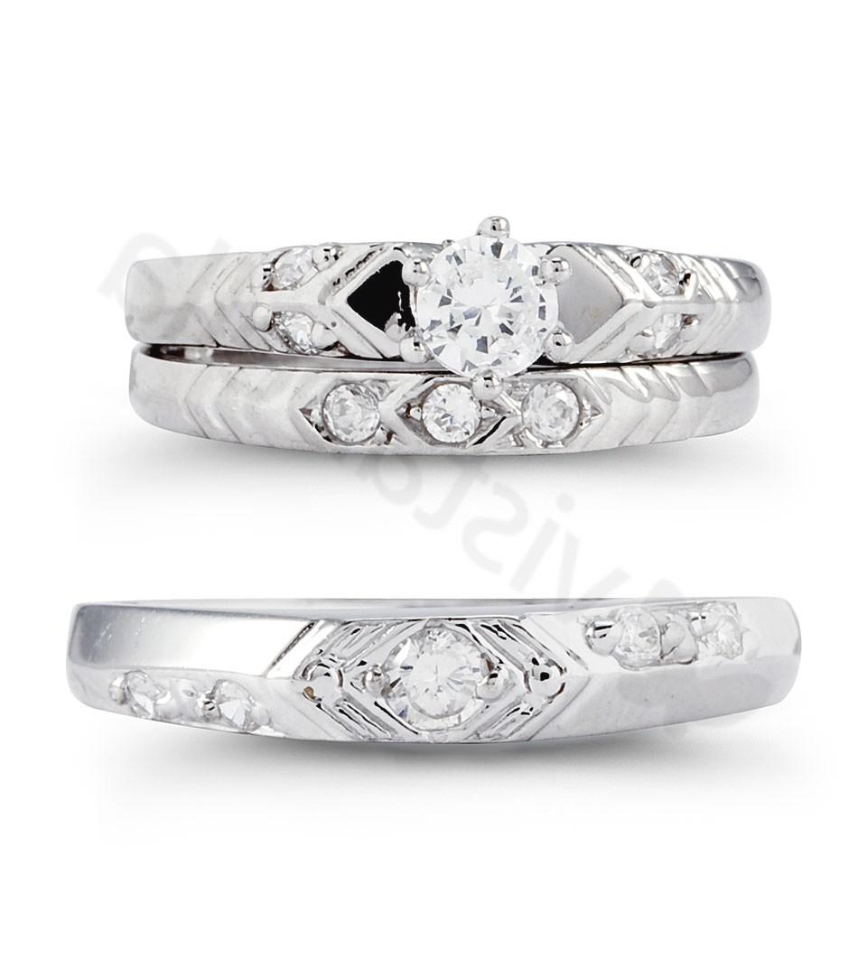 Select a wedding ring set that