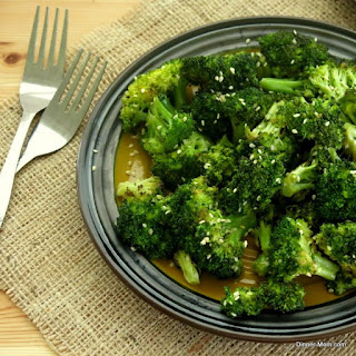 Roasted Broccoli With Sesame Oil Recipes