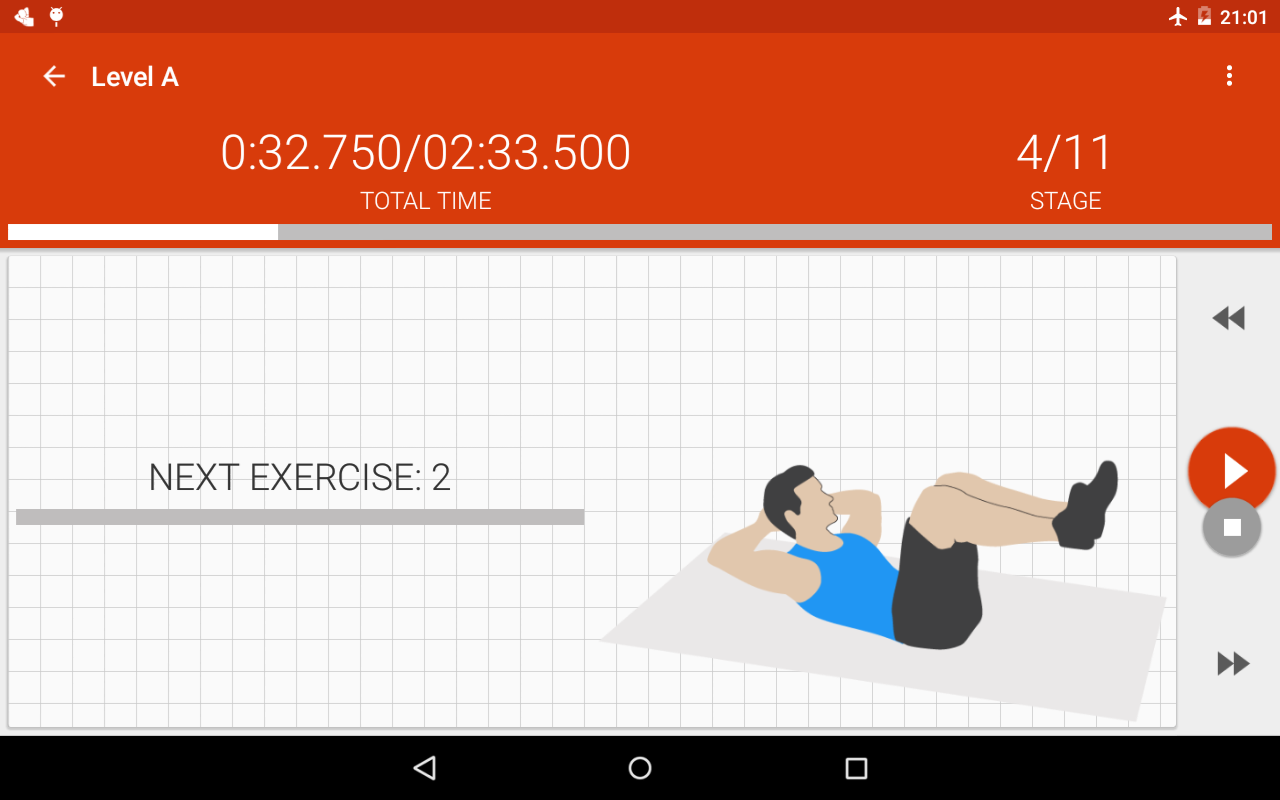 Abs workout II PRO Screenshot 4