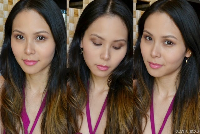 Dior Ambre Nuit 5 Couleurs Eyeshadow Palette Makeup Look Review Swatches