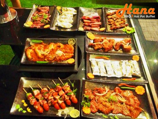 Ăn buffet ở đâu ngon có đặc sản ẩm thực Nhật Ý Hàn