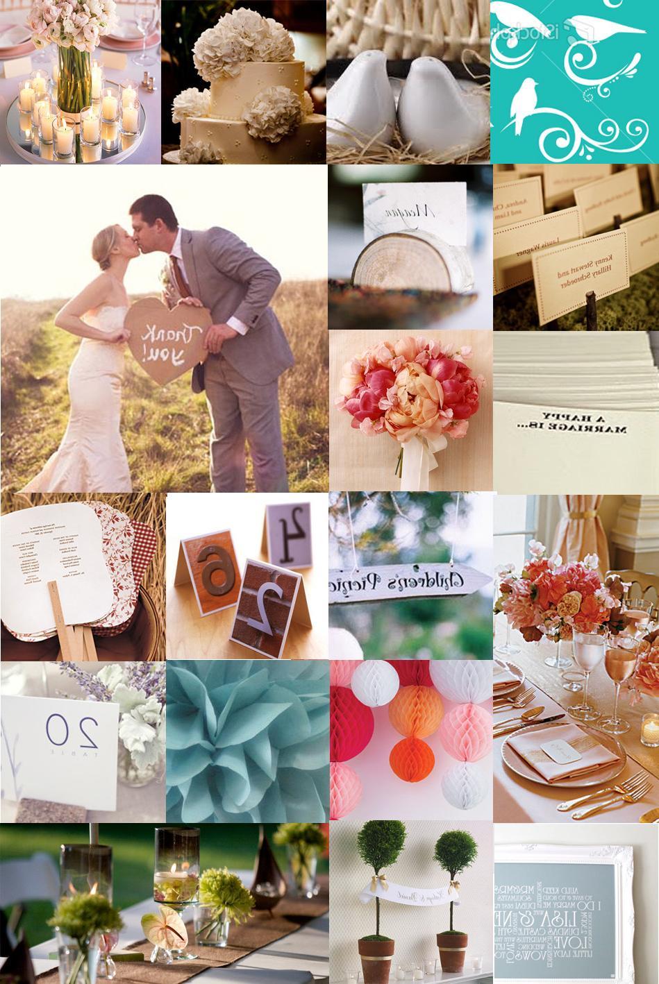 garden-themed wedding. 2.