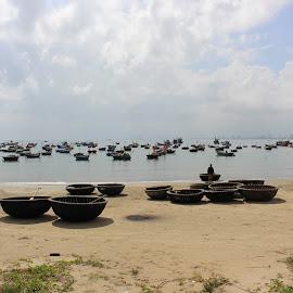 Làng chài Mân Thái - Bán đảo Sơn Trà. by Oanh Phạm - City,  Street & Park  Skylines