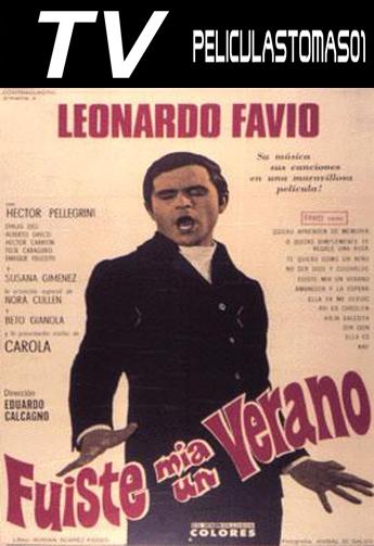 Fuiste mía un verano (1969) TVRip