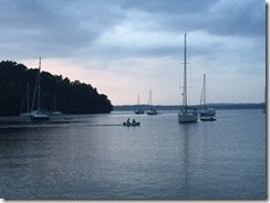 Valcour sailboat 2