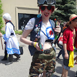 tankgirl at Anime North 2014 in Mississauga, Ontario, Canada