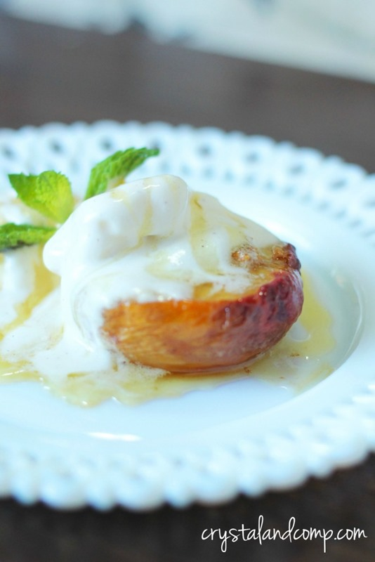 oven-roasted-peaches-with-vanilla-ice-cream-683x1024