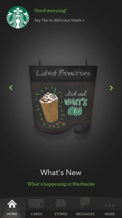 Starbucks app 02